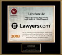 Lars Soreide Highest Ethical Standard Award 2018