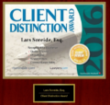 Securities Lawyer Client Distinction 2015 Award