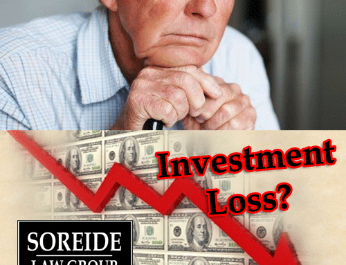 Eric Stubbe Investment Losses?