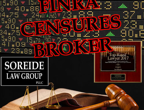 ATTENTION INVESTORS: FINRA Fines, Suspends Morgan Stanley Broker FRANK VENABLE