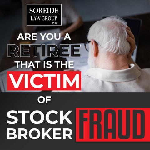 retiree of stock broker fraud